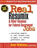 img - for Real Resumix & Other Resumes for Federal Government Jobs book / textbook / text book