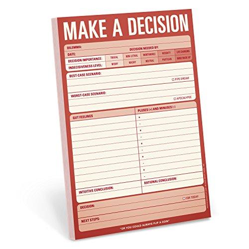 Pad. Make a Decision