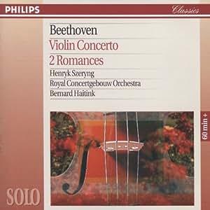 Beethoven: Violin Concerto / 2 Romances