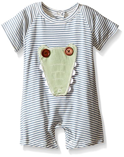 Mud Pie Baby Gator One Piece, Multi, 9-12 Months