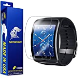 ArmorSuit MilitaryShield - Samsung Gear S Screen Protector Anti-Bubble Ultra HD - Extreme Clarity & Touch Responsive Shield with Lifetime Free Replacements - Retail Packaging