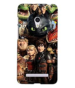 HOW TO TRAIN YOUR DRAGON BACK COVER FOR ASUS ZENFONE 5