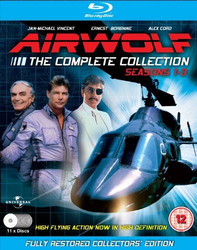 Airwolf - The Complete Collection: Seasons 1-3 - 11 Disc Set [Blu-ray]