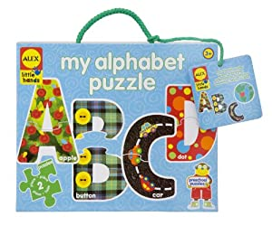 ALEX® Toys - Little Hands - Preschool Early Learning - My Alphabet Puzzle by Alex
