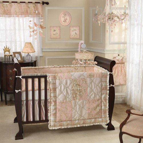 Little Princess 6 Piece Baby Crib Bedding Set With Bumper By Lambs & Ivy