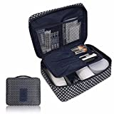 IEason Makeup Toiletry Case Cosmetic Makeup Bag Toiletry Travel Kit Organizer