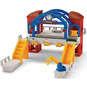 Amazon.com: Fisher Price Geotrax Central Terminal: Toys & Games