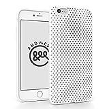 iPhone 6 Plus メッシュ ケース AndMesh Mesh Case for iPhone 6 Plus 日本製 エラストマー ソフトケース 割れない傷つかない優しい質感 White 白 ホワイト | AMMSC610-WHT