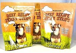 Trader Joe\'s Beef Recipe Jerky Dog Treats - Made in The USA