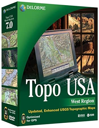 Topo USA 7.0 West Edition
