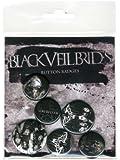 GB eye Black Veil Brides Darkest Badge Pack