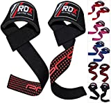 Authentic RDX Padded Weight Lifting Training Gym Straps Hand bar