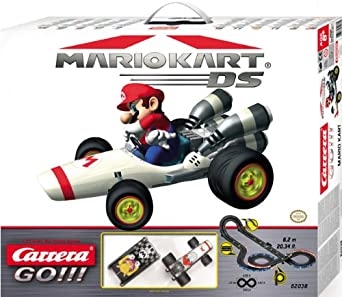 Carrera Go Mario Kart Slot Car Race Set 1:43 Scale
