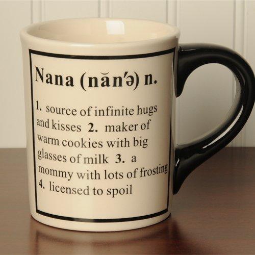 Tumbleweed 'Nana' Definition Ceramic Coffee Mug 20Oz