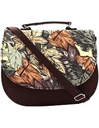 PST Women's Sling Handbags Brown (PST01001)