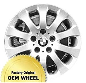 BMW 323,325,328,330,335,3 SERIES 17X8 10 SPOKE Factory Oem Wheel Rim- SILVER – Remanufactured