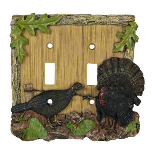 Turkey Double Switchplate Cover
