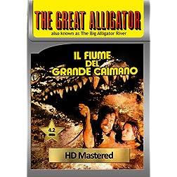 The Great Alligator (Il fiume del grande caimano) [VHS Retro Style] 1979