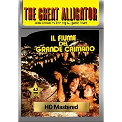 The Great Alligator (Il fiume del grande caimano) [VHS Retro Style] 1979