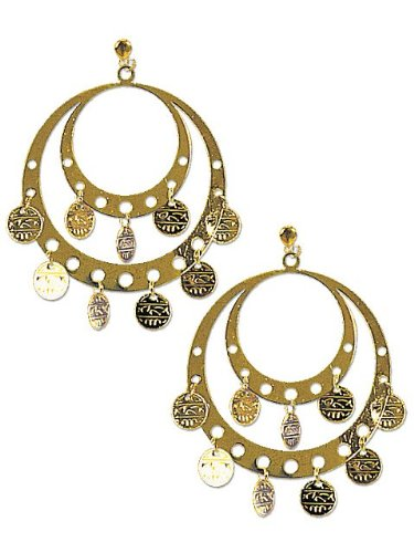 Rubie's Costume Co Pierced Gypsy Earrings Costume - 1