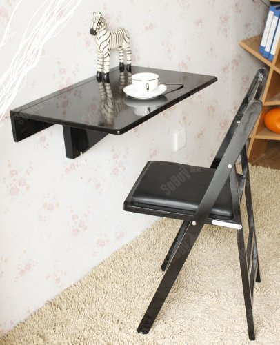 Sobuy Wall Mounted Drop Leaf Table Folding Kitchen