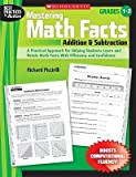 img - for [(Mastering Math Facts: Addition & Subtraction: Grades 1-3)] [Author: Richard Piccirilli] published on (June, 2009) book / textbook / text book