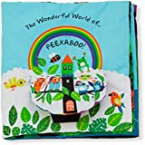 Melissa & Doug Soft Activity Book - The Wonderful World of Peekaboo!