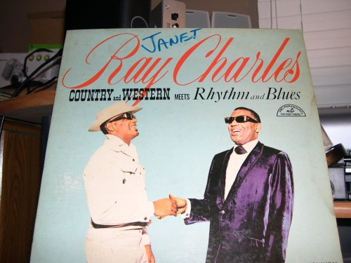 Country and Western meets Rhythm and Blues (by Ray Charles) ABC Paramount ABC-520 MONO LP VINYL Record Album
