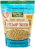 Natures Earthly Choice Raw Shelled Hemp Seed, 24 Ounce