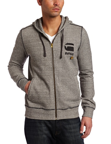 G-Star Raw Men's CL Hooded Long Sleeve Sweater