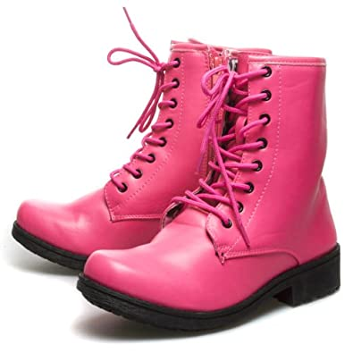 Top 5 Pink Combat Boots For Women 2014 Best Picks With
