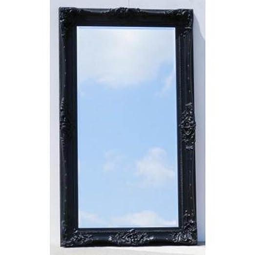 7ft x 4ft Huge Black Monaco Mirror (7ft x 4ft)