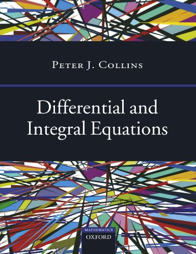 Differential and Integral Equations (Oxford Handbooks)