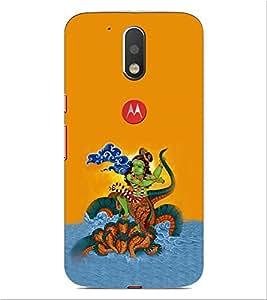 ifasho krishna Dancing on kalia serpant Back Case Cover for Motorola Moto G4 Plus