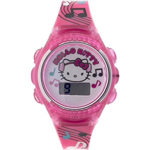 Hello-Kitty-Flashing-Lights-LCD-Watch