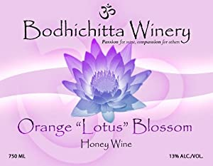 Bodhichitta Winery Orange Blossom Honey Wine/Mead - Dry 750ml
