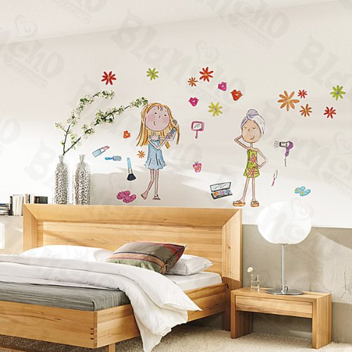 Shower Girls - Large Wall Decals Stickers Appliques Home Decor