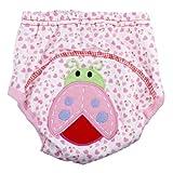eKingstore Baby Potty Training Pants Diaper Nappy Underwear (100cm, ladybug)