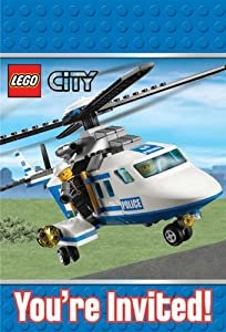 LEGO City Invitations Party Accessory by Amscan