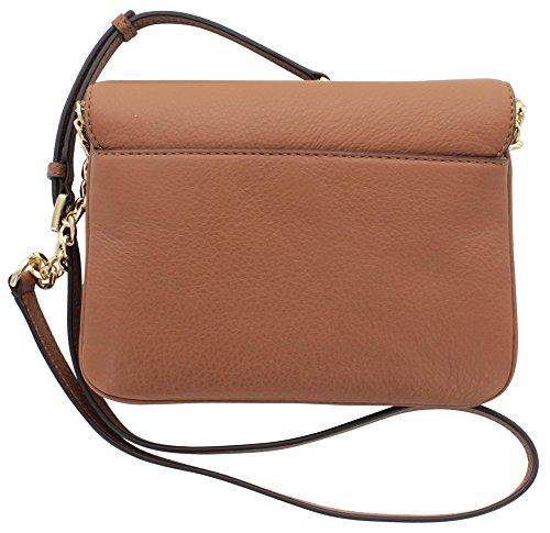 michael kors bedford women 39 s leather crossbody handbag brown apparel. Black Bedroom Furniture Sets. Home Design Ideas