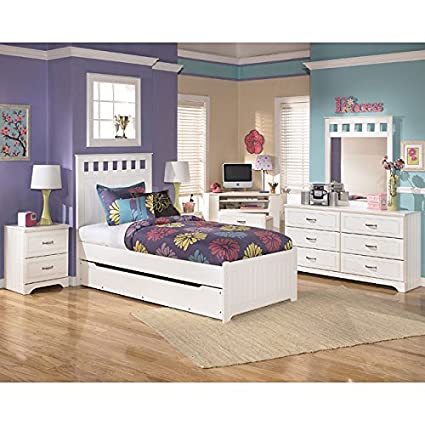 Lulu Panel Bedroom Set w/ Trundle Twin
