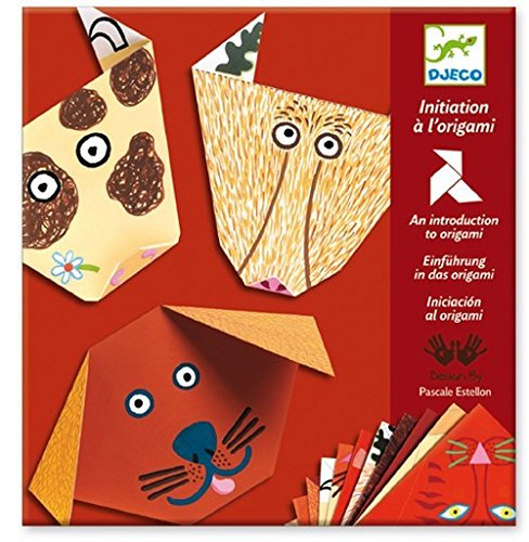 Djeco / Beginning Origami Kit, Animals - 1