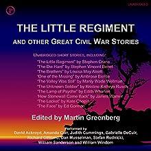 The Little Regiment and Other Great Civil War Stories Audiobook by Martin Greenberg - editor Narrated by Davi Ackroyd, Amanda Carr, Judith Cummings, Gabrielle deCuir, Richard Gilliland, Dan Musselman