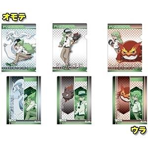 ポケットモンスター ベストウィッシュ 「N」クリアファイルセット 【レシラム/ゾロア/ヒヒダルマ】