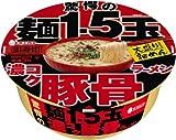 エースコック 驚愕の麺1.5玉 濃コク豚骨ラーメン 1箱(12入)