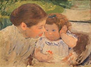 Mary Cassatt Susan Comforting the Baby No. 1 c. 1881 01 16 X 12 Canvas Art Print Do It Yourself (DIY)