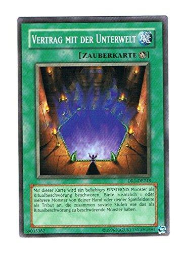 DR1-DE248 Vertrag mit der Unterwelt im Set mit original Gwindi Kartenschutzhülle