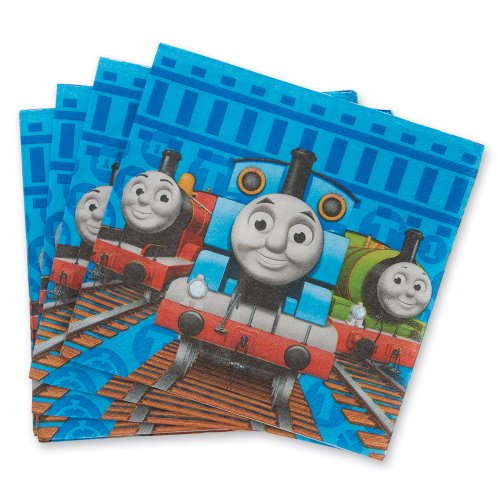 Thomas The Train Party Luncheon Napkins - Party Supplies - 16 per Pack