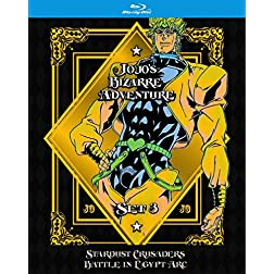 JoJo's BA Set 3: SC: BiE [Blu-ray]