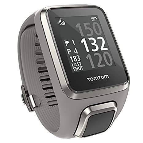 TomTom Golfer 2 - 1REG.001.035 - Montre GPS - Bracelet Gris Clair - Small